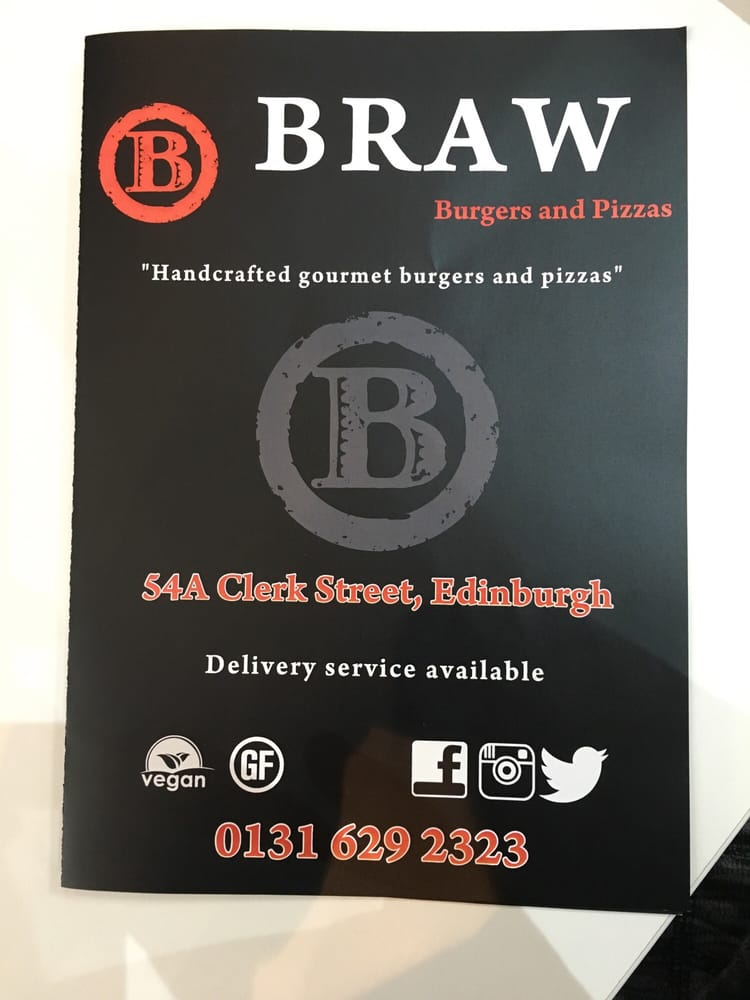 Braw Burgers And Pizza