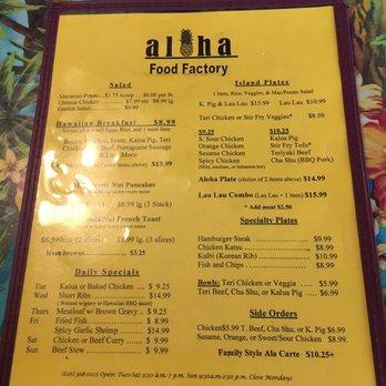 Aloha Food Factory 1794 Photos 1080 Reviews Hawaiian 2990 W
