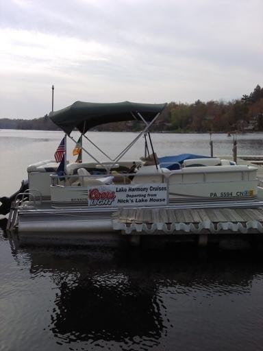 Lake Harmony Cruises: 20 S Lake Dr, Lake Harmony, PA