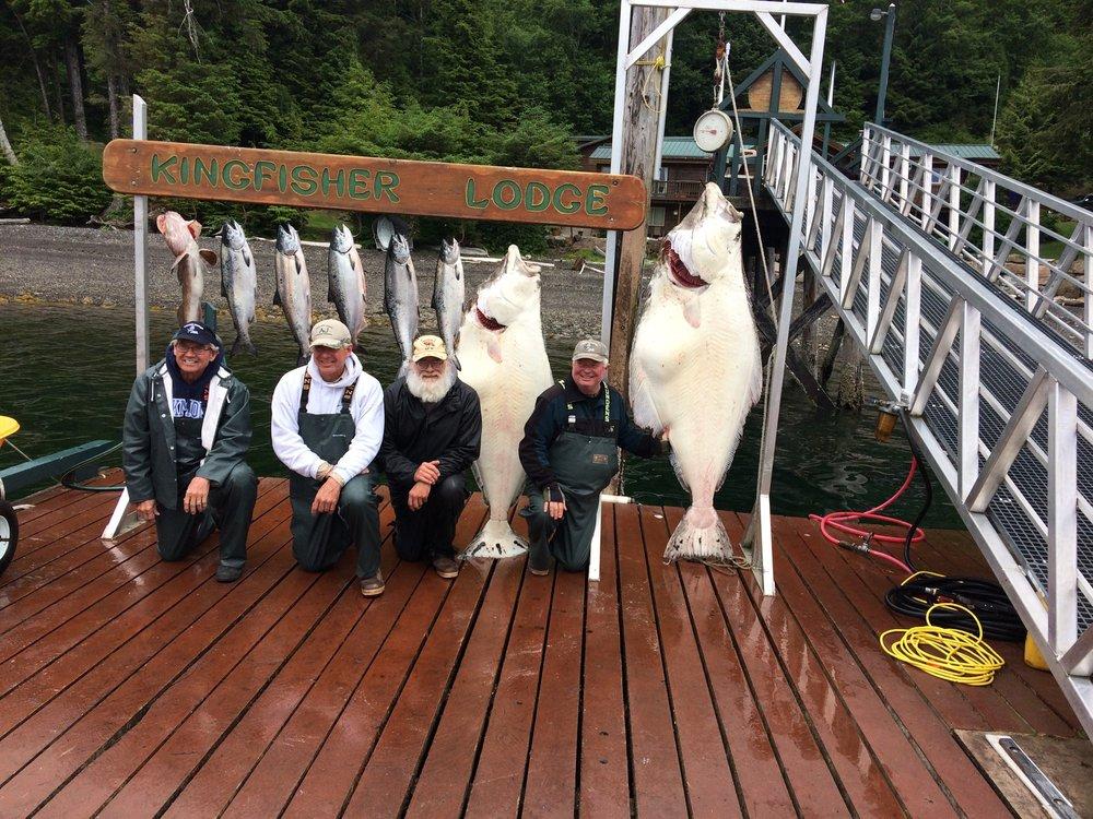 Kingfisher Charters & Lodge: 2.25 Port St Nicholas Rd, Craig, AK