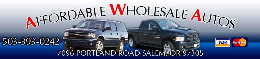 Affordable Wholesale Auto: 7096 Portland Rd NE, Salem, OR