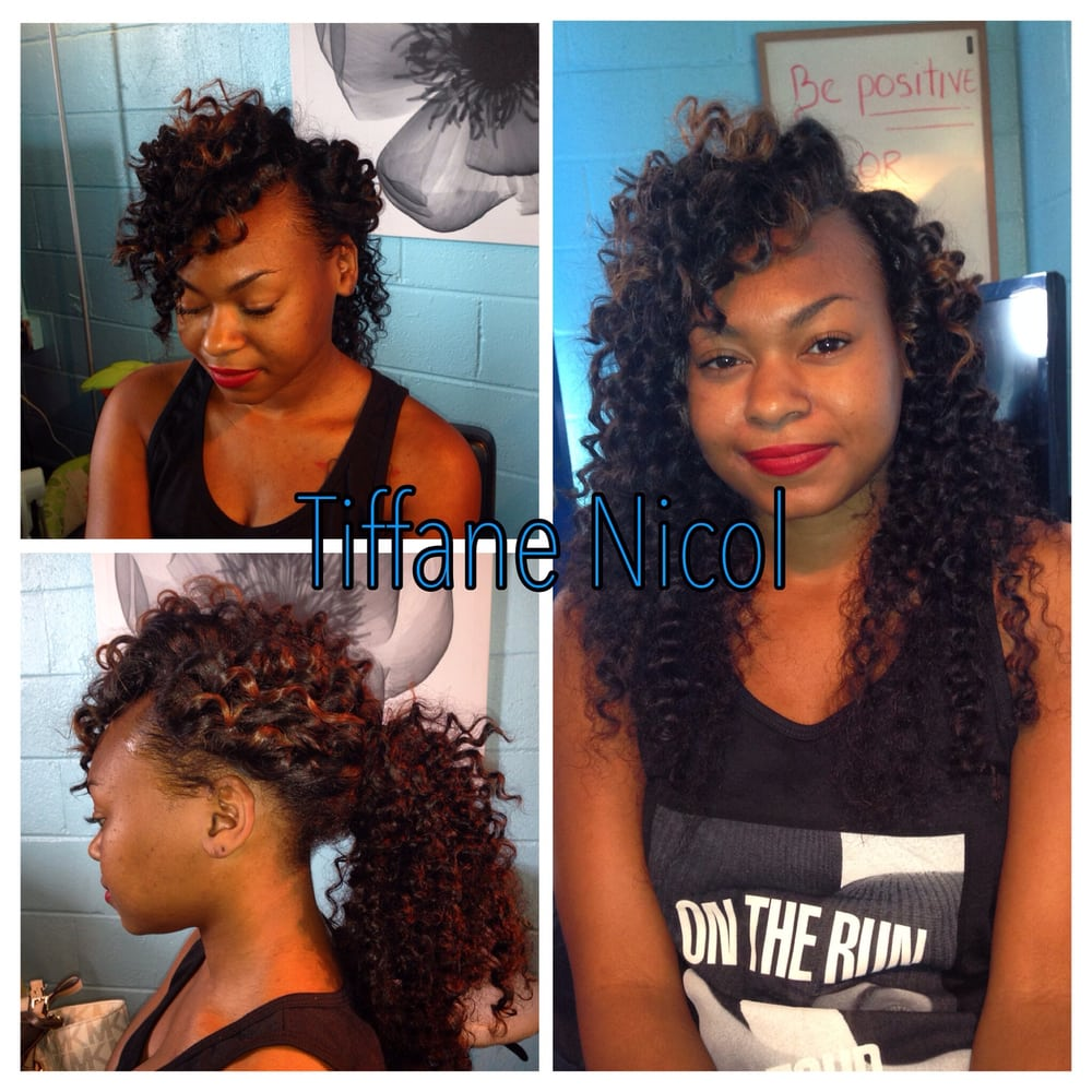 The Perfect Sewin By Tiffane Nicol Curly Virgin Hair Install