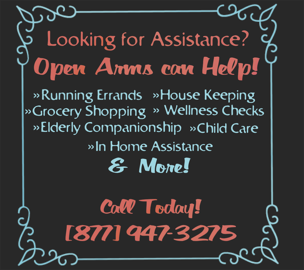 Open Arms Referral Service: Bishop, CA