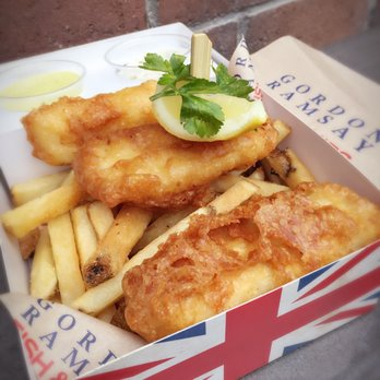 Gordon ramsay fish chips 712 photos 347 reviews for Gordon ramsay las vegas fish and chips
