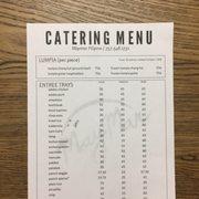 menu photo of maymar filipino restaurant chesapeake va united states catering menu