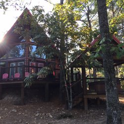 Photo Of Beavers Bend Log Cabins   Broken Bow, OK, United States. Back