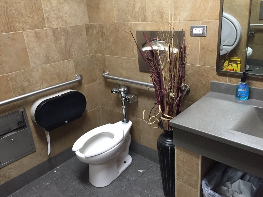 photo of pilot travel center sturbridge ma united states womens bathroom - Womens Bathroom
