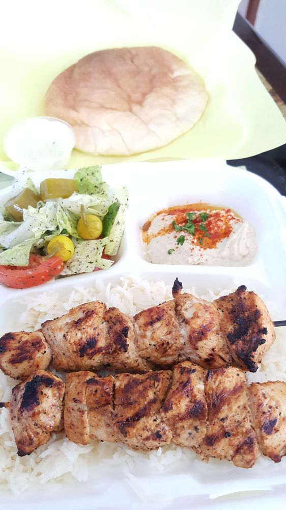 Food from Kabob House