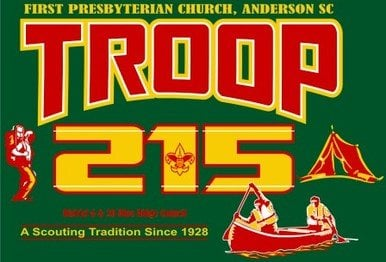 BSA Boy Scout Troop 215: 413 W Whitner St, Anderson, SC