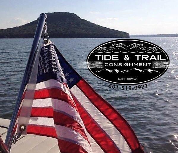 Tide & Trail: 4285 Hwy 330 S, Fairfield Bay, AR