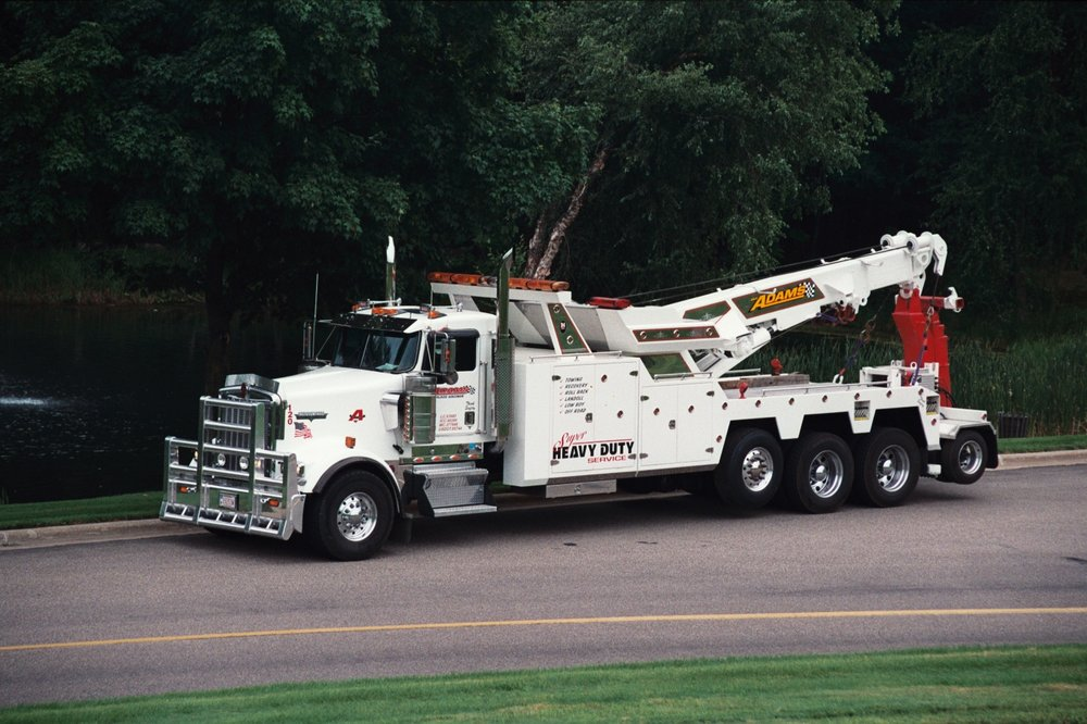 Adams Towing Service: 3111 Post Rd, Plover, WI