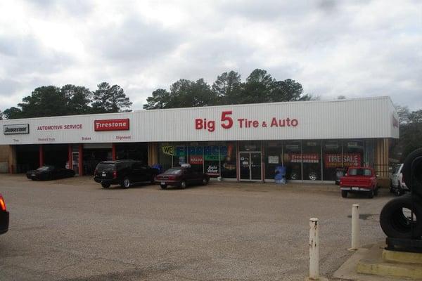 Big 5 tire auto service richiedi preventivo cambio for Patterson motors of longview