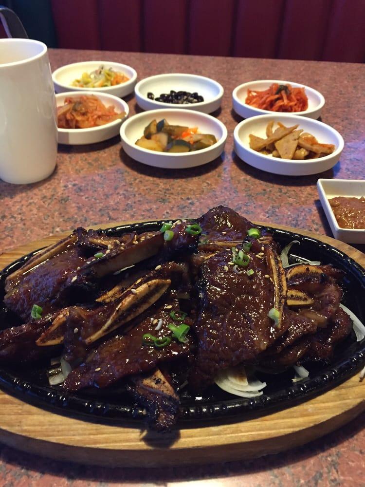Won korea house 82 foto cucina coreana 2340 s cooper for Cucina coreana