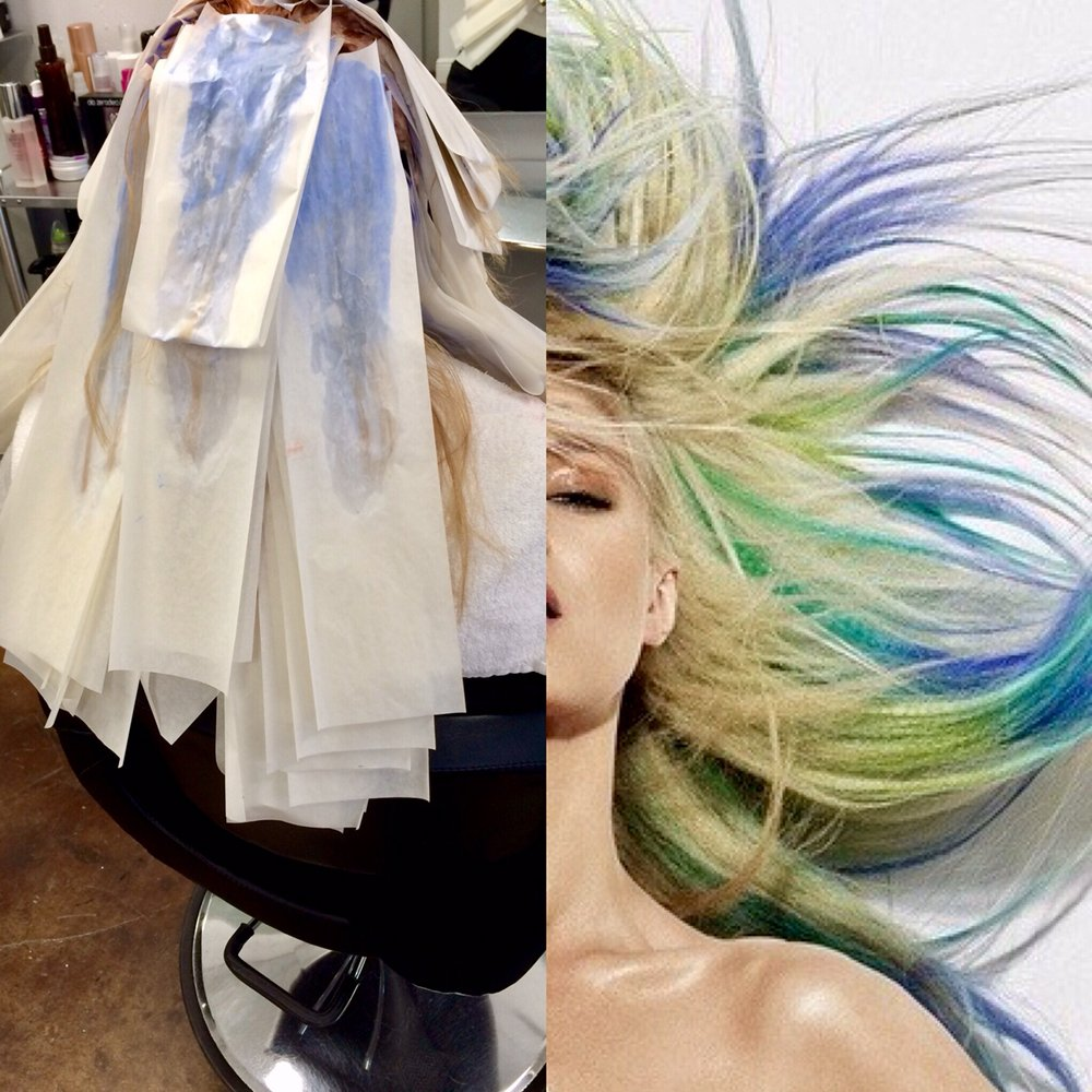 Upscale and advanced hair coloring techniques only at ...