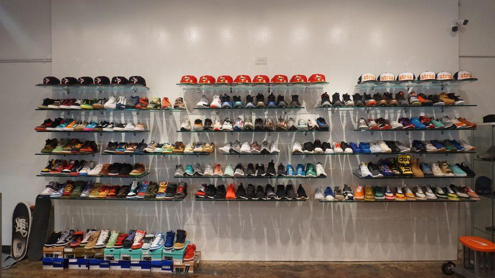 Sneaker Summit Storefront: 3814 S Shepherd Dr, Houston, TX