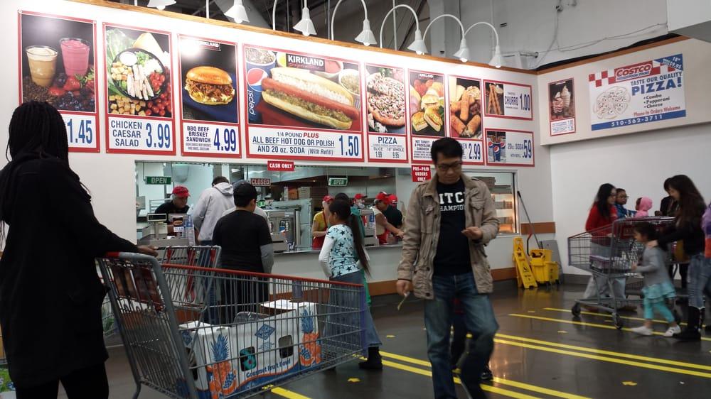Costco San Leandro Food Court