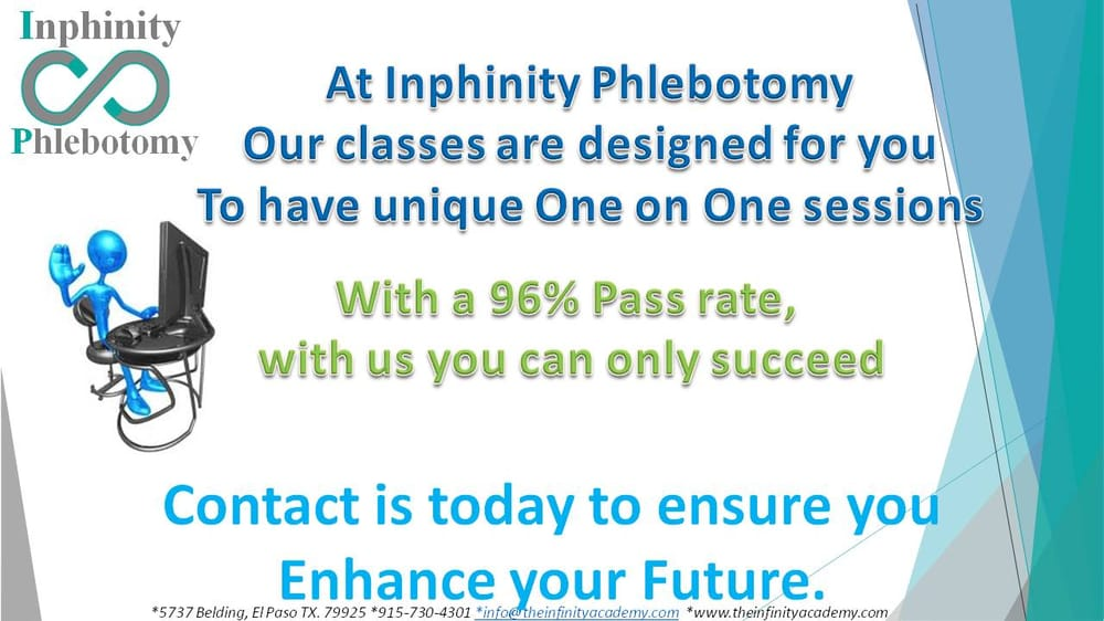 Inphinity Phlebotomy Specialty Schools 5737 Belding Dr El Paso