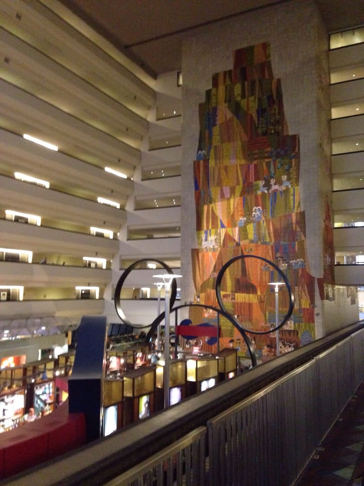 Disney s contemporary resort monorail station 16 photos for Contemporary hotel