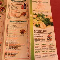 See Thru Chinese Kitchen 13 Fotos 19 Beitr Ge Chinesisch 4318 S Ashland Ave Back Of The