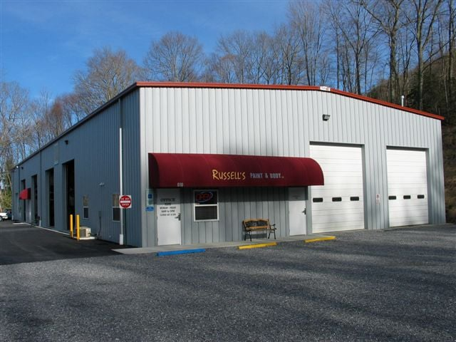 Russell's Paint & Body: 610 Old Lytle Cove Rd, Swannanoa, NC