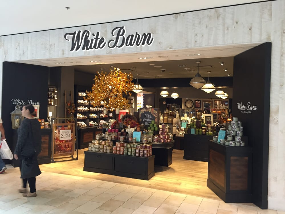 White Barn Candle Company Candle Stores Garden State Plaza M Hackensack Nj United States