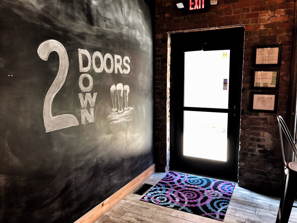 Two Doors Down Brewery: 112 Warner St, Clinton, IL