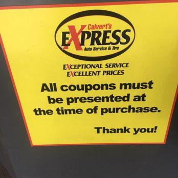 Photo Of Calvert S Express Auto Service Tire Belton Mo United States