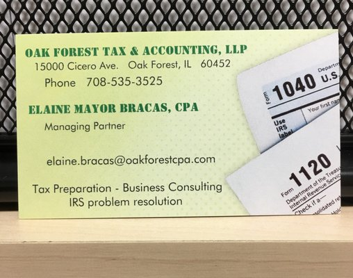 Oak Forest Tax Accounting Get Quote Accountants 15000 Cicero