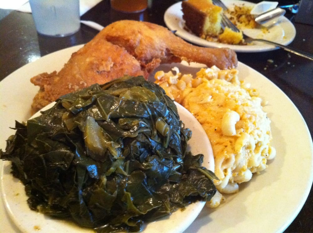 Photo Of Foster S Restaurant Brooklyn Ny United States Collard Greens Fried