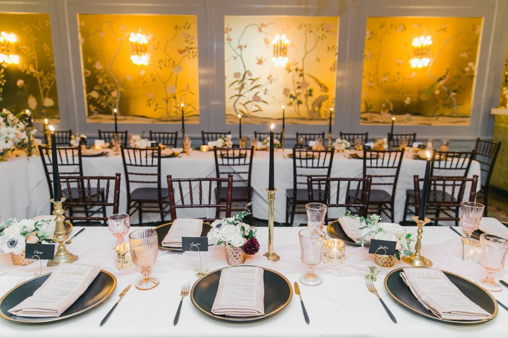 Intimate Wedding Reception Park Tavern San Francisco Event