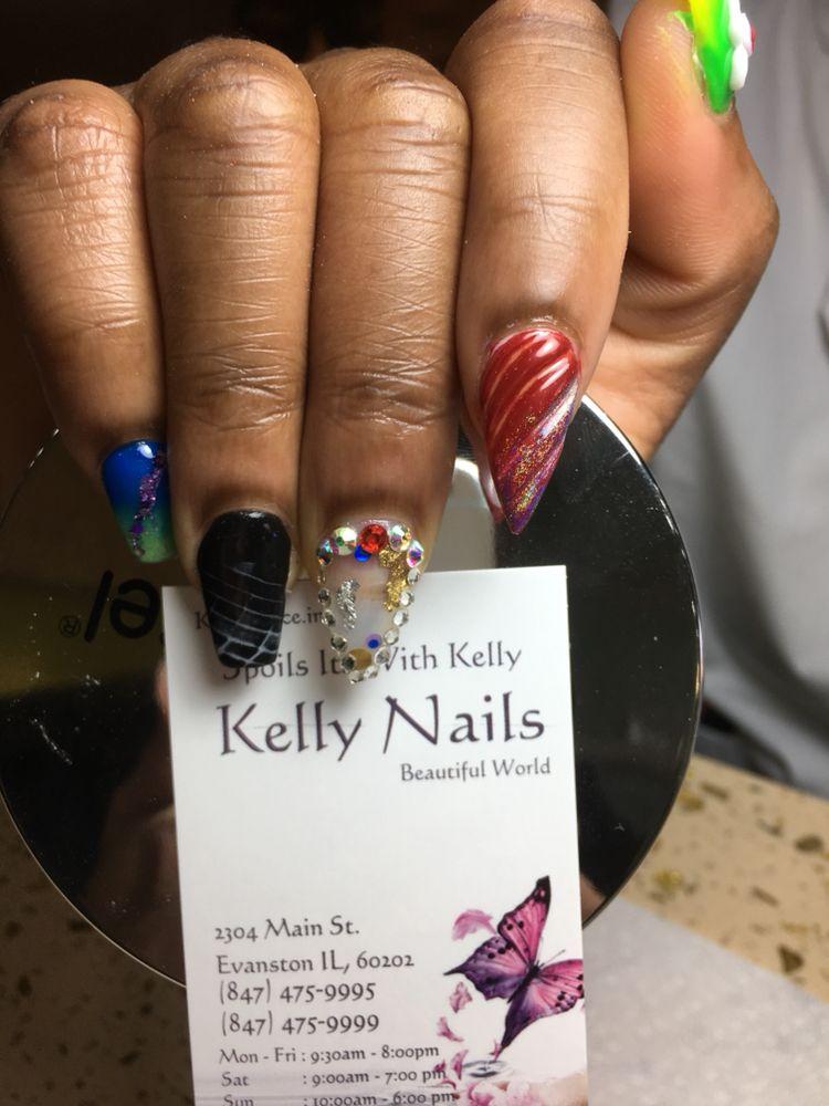 Tony - Kelly nails, 2304 Main Street , Evanston - Yelp