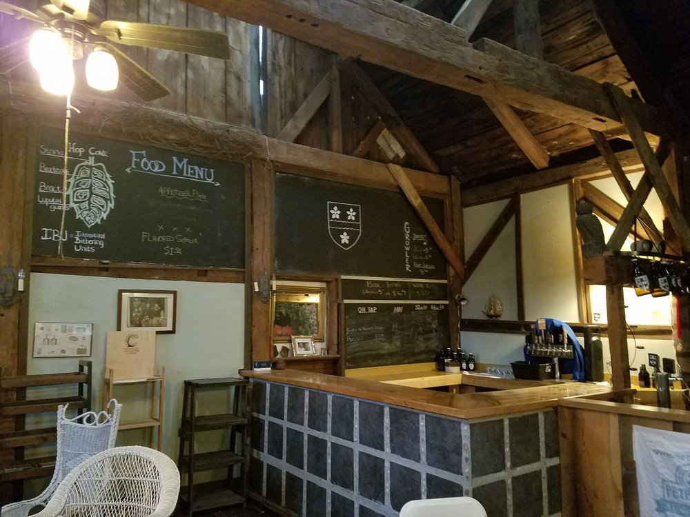 Foley Brothers Brewery: 79 Stone Mill Dam Rd, Brandon, VT