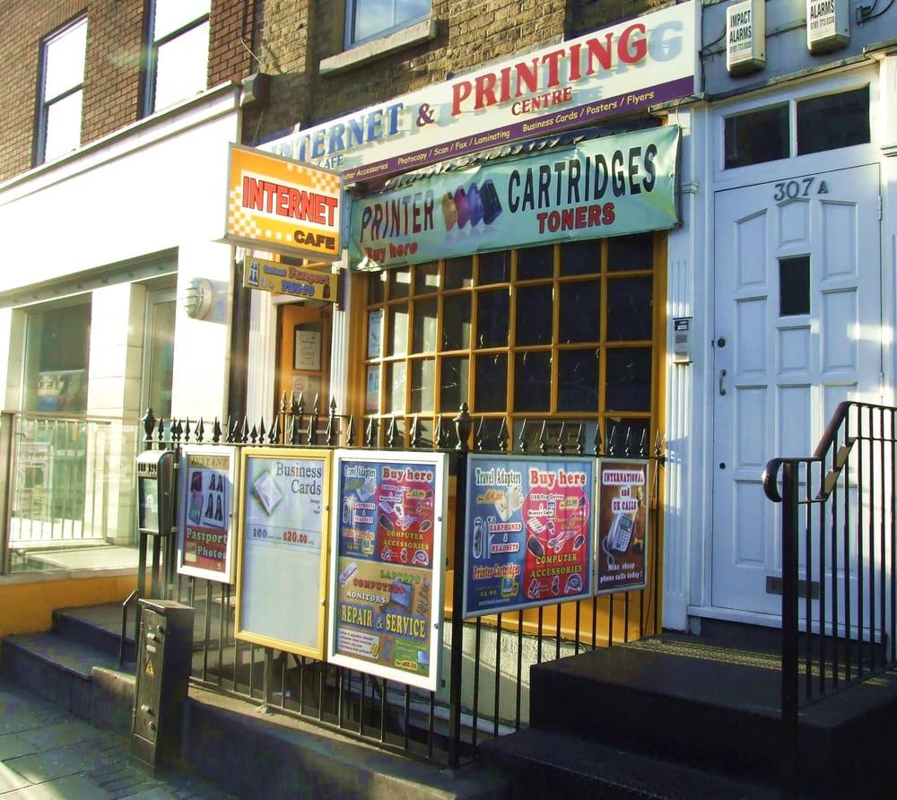 Internet Cafe Near Me London