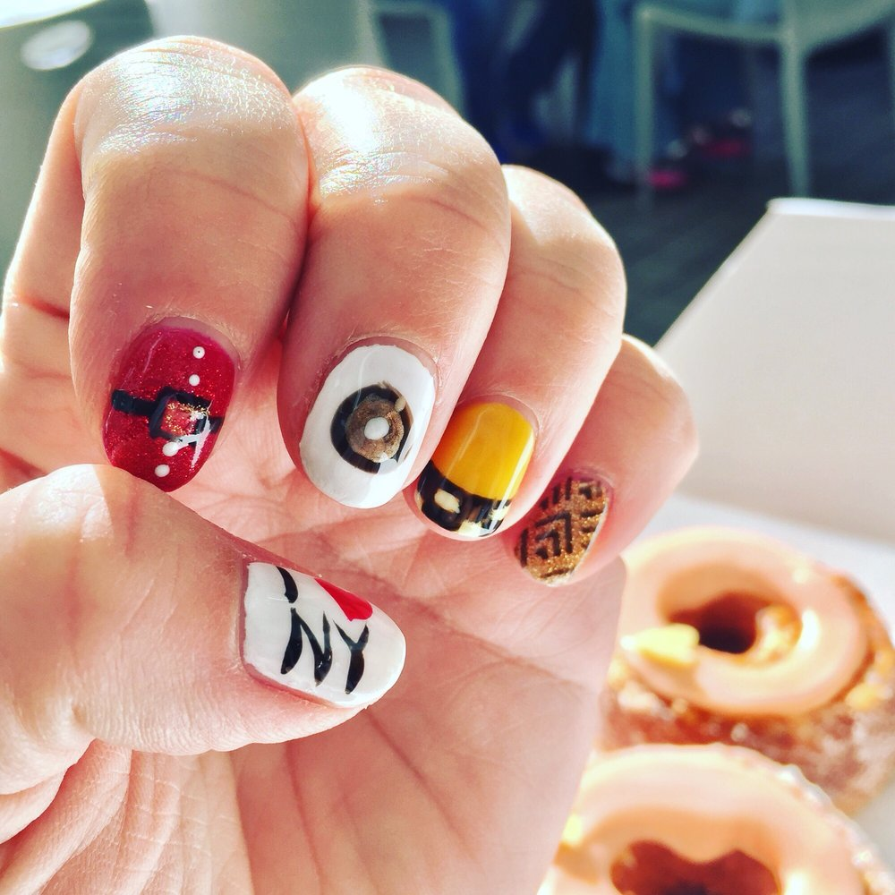 LOVE my New York City nails! Thanks Becky Palmer! - Yelp