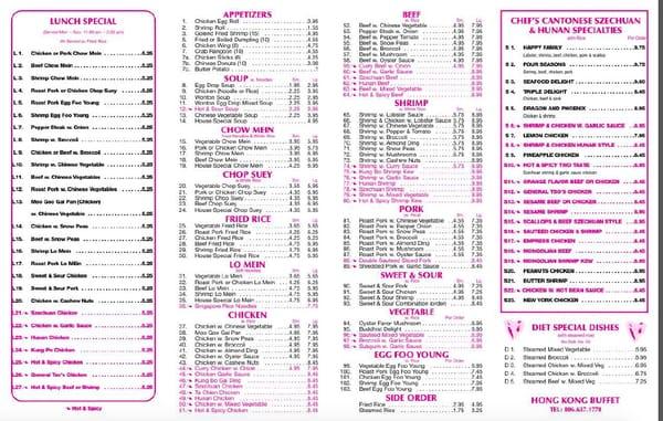 Hong Kong Buffet 402 Lubbock Rd Brownfield Tx Restaurants Mapquest