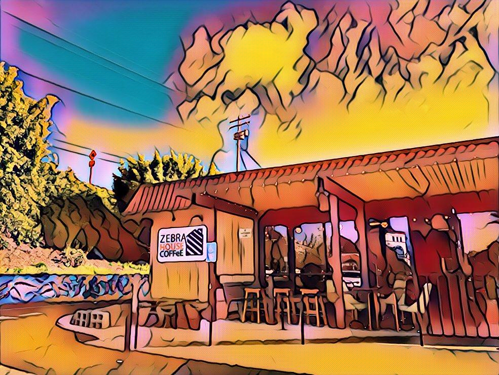 斑马屋咖啡
