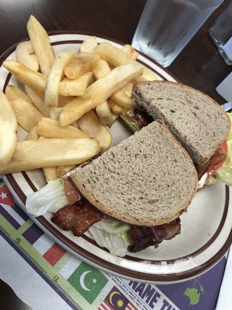 Food from BLT Cafe