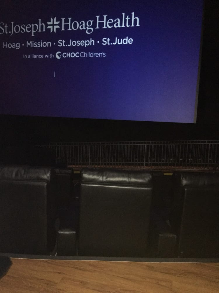 Their new spacious leather comfy recliner chairs makes for Regal theater garden grove