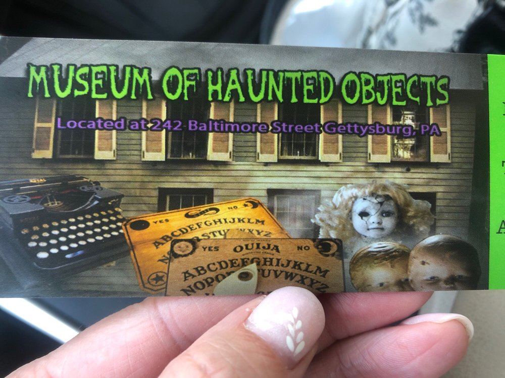 Museum of Haunted Objects: 242 Baltimore St, Gettysburg, PA