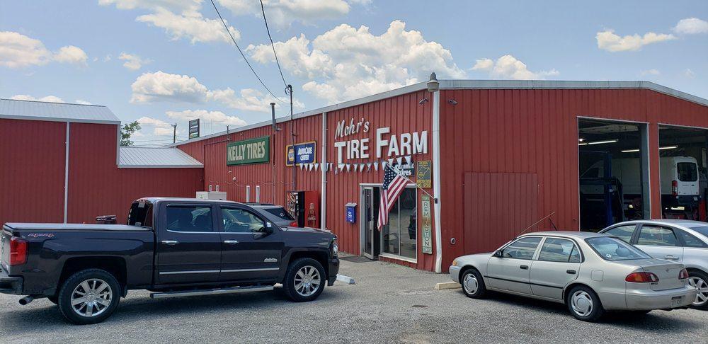Mohr's Tire Farm: 1129 Woodland Dr, Milton, WV