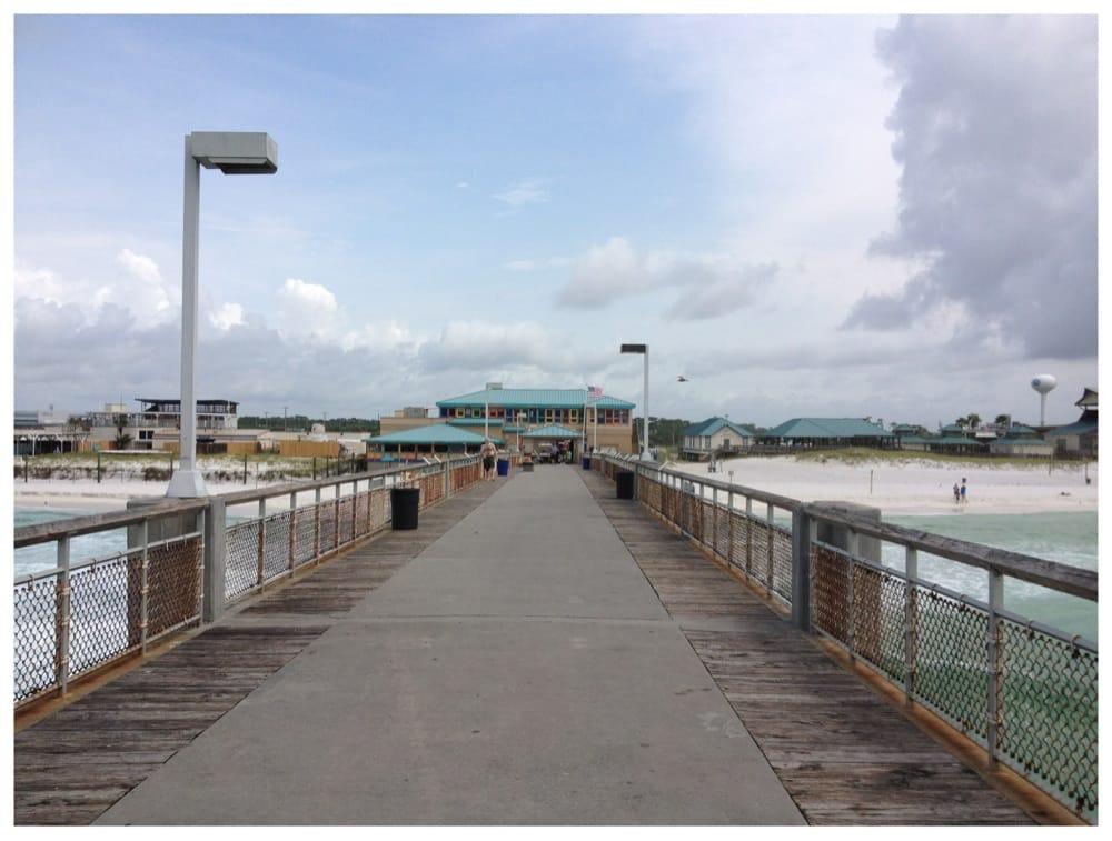 Okaloosa island pier 25 photos 12 reviews fishing for Fort walton beach fishing