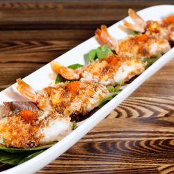 Photo Of Eat Sushi Restaurant San Francisco Ca United States Garlic Shrimp