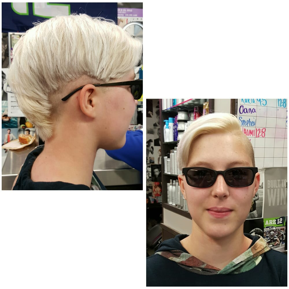 The Shop 44 Photos 58 Reviews Hair Salons 9714 Ne 119th Way