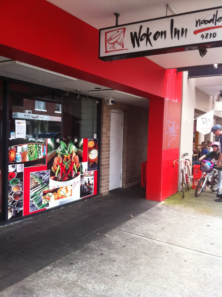 Wok on inn noodle bar fast food 415 darling st for J s food bar 01708