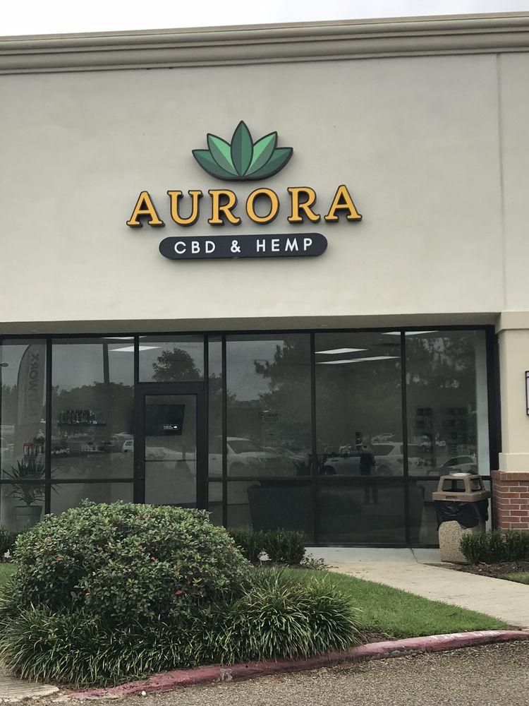 Aurora CBD & Hemp: 19970 Highland Rd, Baton Rouge, LA