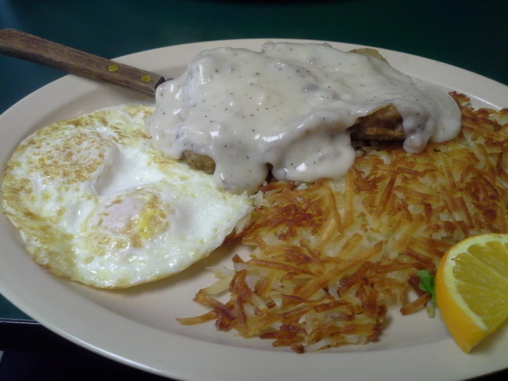 Country Kitchen Country Fried Steak Eggs