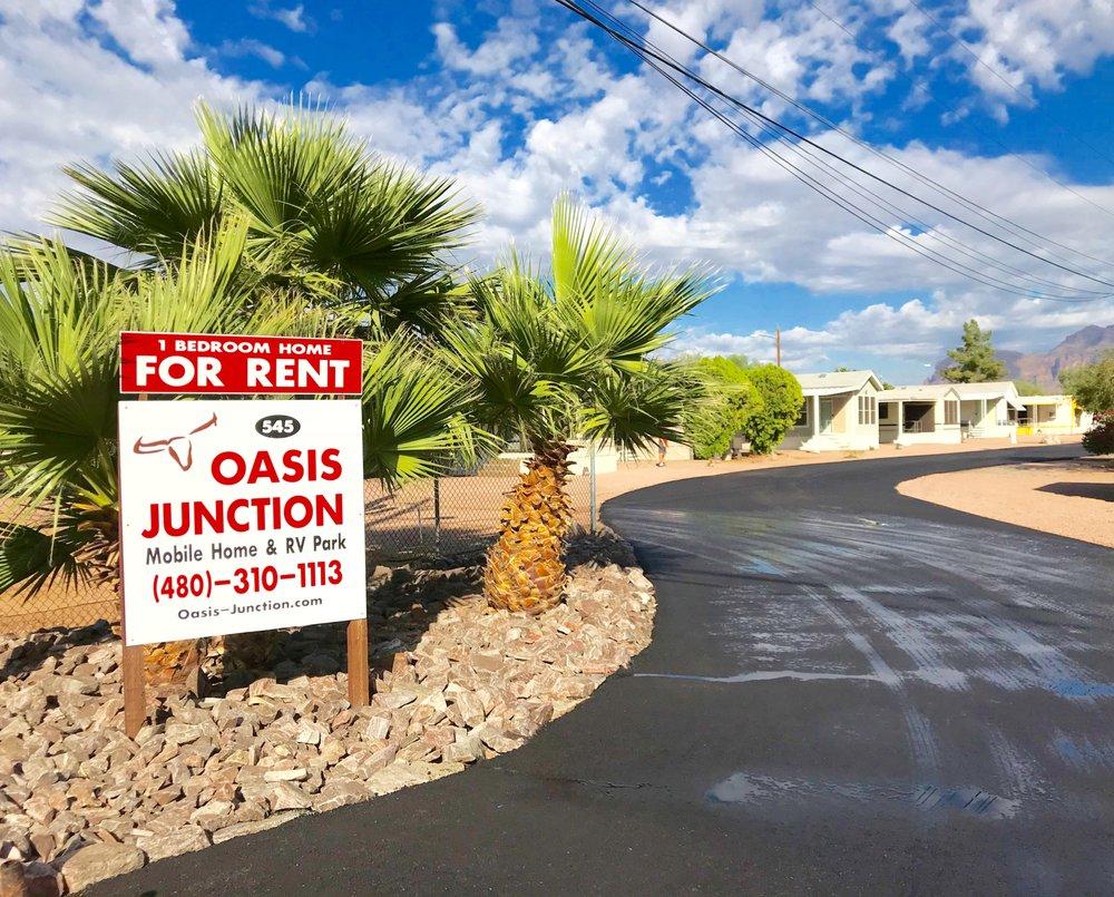 Oasis Junction Mobile Home & RV Park: 545 N Ocotillo Dr, Apache Junction, AZ