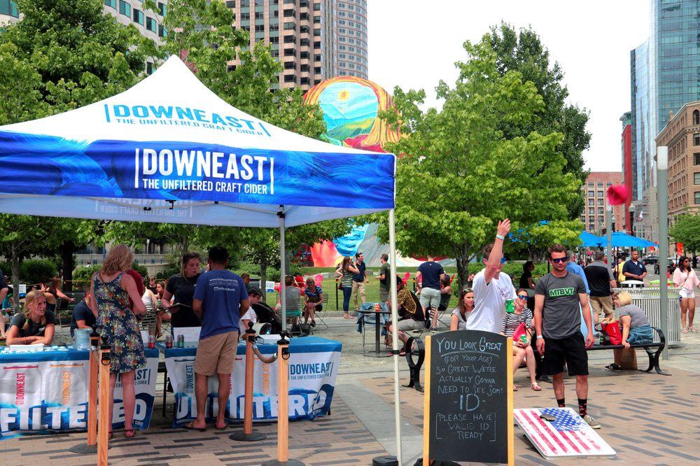 Downeast Back Porch: 600 Atlantic Ave, Boston, MA