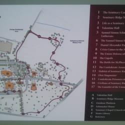 Gettysburg Seminary Ridge Museum Photos Museums - Gettysburg pa in us map
