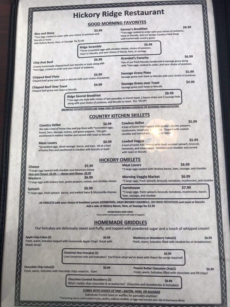 Hickory Ridge Restaurant - Order Food Online - 72 Photos